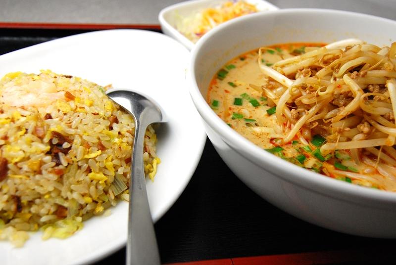 炒飯・中担々麺セット - セット人気No1