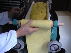 画像:料理に自家製麺