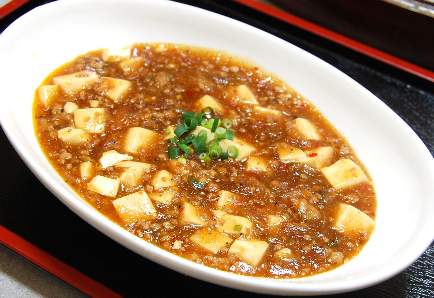 画像:麻婆豆腐